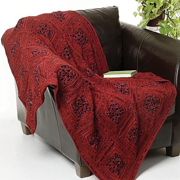 Caron Sunset Evening Throw