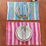 Lily Sugar'n Cream Stripes Placemat