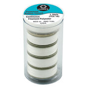 Go to Product: Coats & Clark Prewound Polyester Bobbins, White in color