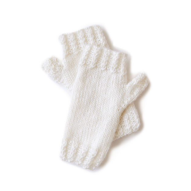 Sugar Bush Mini Cable Ribbing Knit Mitts