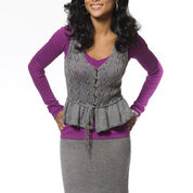 Caron Lace Stitch Cami & Skirt Set, Skirt - XS
