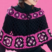 Go to Product: Bernat Flower Power Granny Poncho, XS-M in color