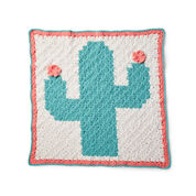 Go to Product: Bernat Corner to Corner Crochet Cactus Blanket in color