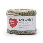 Go to Product: Red Heart Roll With It Melange Yarn, Theater in color Theater