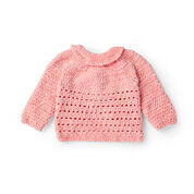 Bernat Crochet Baby Party Cardi, 6 mos.