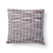 Bernat Simple Twist Knit Pillow