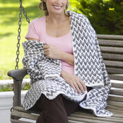 Go to Product: Red Heart Zig-Zag Post Stitch Throw in color