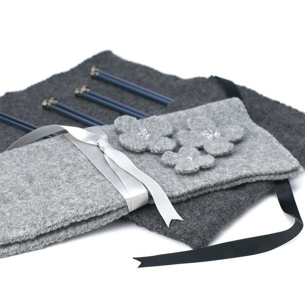Patons Felted Knitting Needle Case