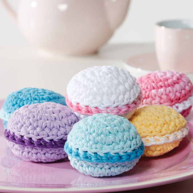 Lily Sugar'n Cream Macarons, Version 1 in color