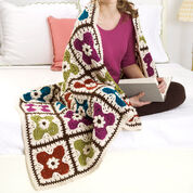 Go to Product: Red Heart Flower Tiles Afghan in color