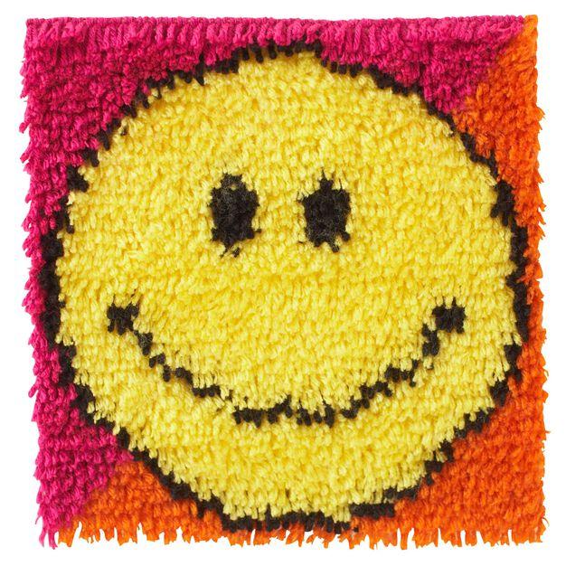 Wonderart Smiley Face 12 X 12 in color