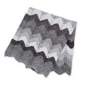Go to Product: Bernat Knit Beginner Chevron Blanket​ in color