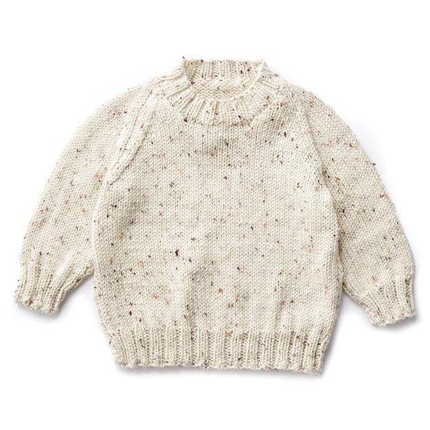 1c73c2de8d29c Caron Child s Knit Crew Neck Pullover