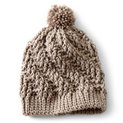 Bernat Stepping Texture Hat