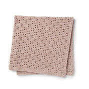 Go to Product: Bernat Velvety Filet Crochet Baby Blanket in color