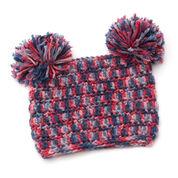 Red Heart Pom-dorable Hat, S