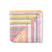 Bernat Radiating Crochet Baby Blanket