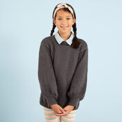 Red Heart Be-Stoked Knit Sweater, 6 yrs