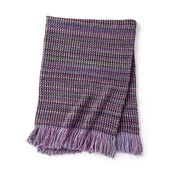 Go to Product: Red Heart Moss The Line Crochet Blanket in color