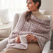 Red Heart Cozy Hygge Wrap