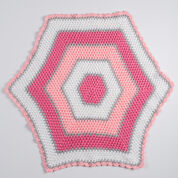 Go to Product: Red Heart Sweet Baby Hexagon Blanket in color