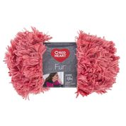 Go to Product: Red Heart Fur Yarn in color Peachie
