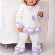 Go to Product: Patons A-Line Butterfly Set, Tunic - 6 mos in color