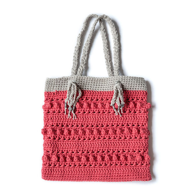 Bernat Hugs & Kisses Tote Bag in color
