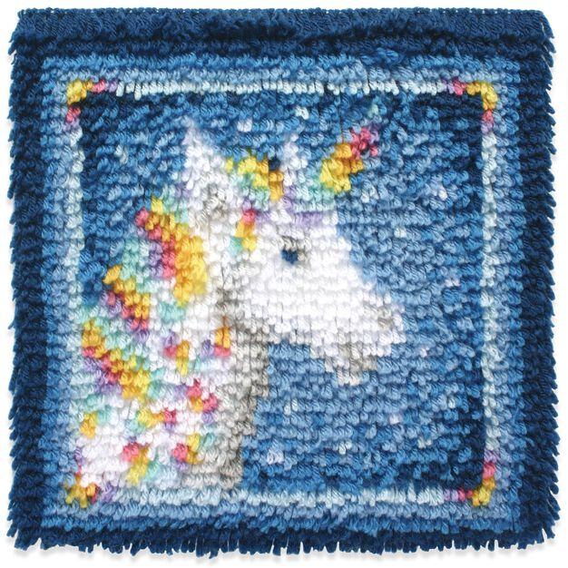 Wonderart Unicorn Kit 12 X 12 in color