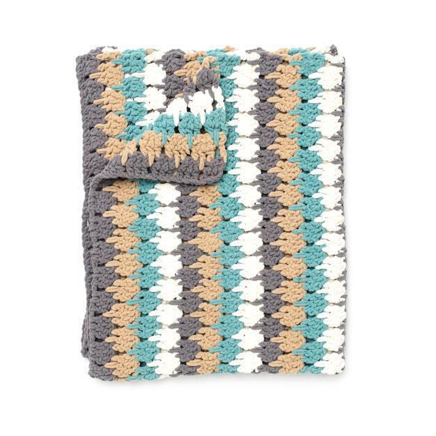 Bernat Larksfoot Blanket Version A Yarnspirations