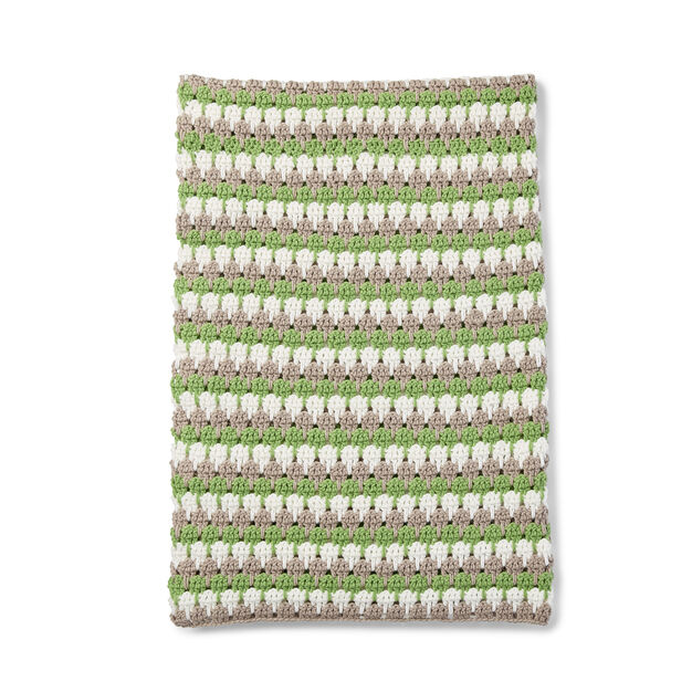 Bernat Larksfoot Crochet Blanket Pattern Yarnspirations