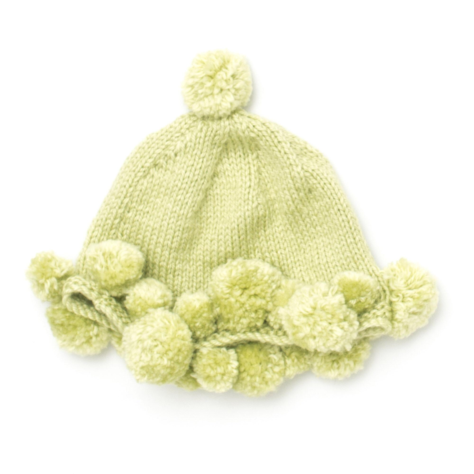 cae2597e6b9 Bernat Pompom Baby Hat · Bernat Pompom Baby Hat