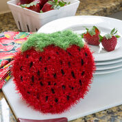 Go to Product: Red Heart Strawberry Sparkle Scrubby in color