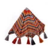 Bernat Radiating Crochet Blanket