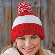 Patons Patriot Stripes Hat, Canada