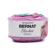 Bernat Blanket Breezy Yarn, Tickled Pink