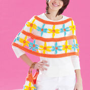 Go to Product: Bernat Daisy Chain Poncho and Bag, Bag in color