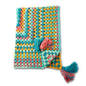 Go to Product: Caron Granny Rectangle Crochet Afghan in color
