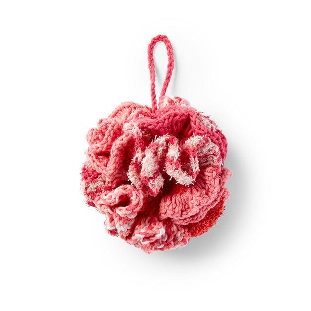 Lily Sugarn Cream Crochet Bath Pouf Pattern Yarnspirations
