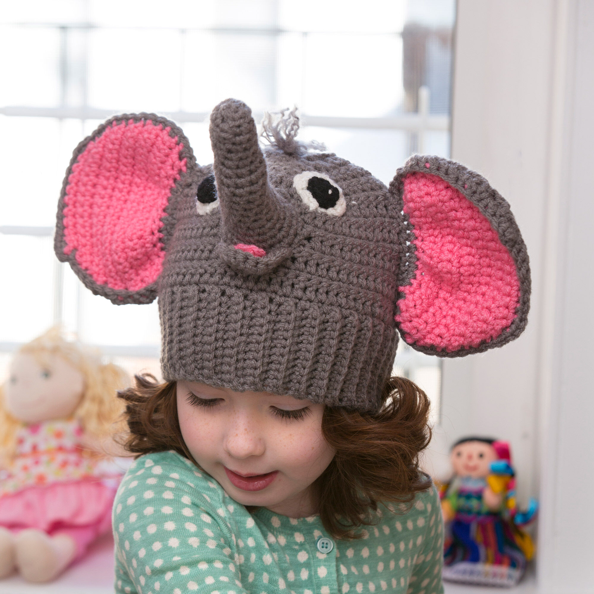 Preemie Newborn Elephant Hat Crochet Pattern | Cream Of The Crop ... | 2000x2000