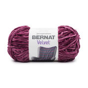 Go to Product: Bernat Velvet Yarn in color Burgundy Plum