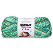 Bernat Softee Baby Colors Yarn, Green Rainbow - Clearance Shades*