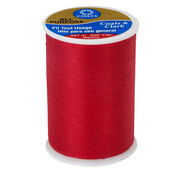 Coats & Clark All Purpose Thread 500 yds, Atom Red