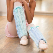 Red Heart Perfect Pointe Leg Warmers, 4/5 yrs