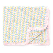 Go to Product: Bernat Tri-Color Baby Blanket in color