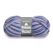 Go to Product: Patons Shetland Chunky Yarn in color Blue Jeans Variegated
