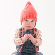 Red Heart Cutie Pointed Hat, Baby