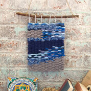 Red Heart Denim Wall Hanging
