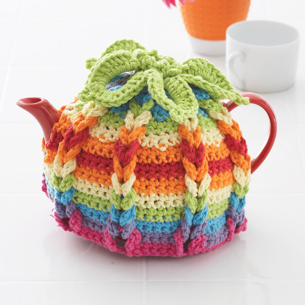 Lily Sugar'n Cream Hot Hibiscus Tea Cozy, 4-Cup Pot in color