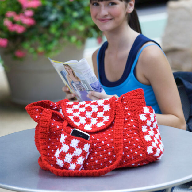Red Heart Everyday Tote in color